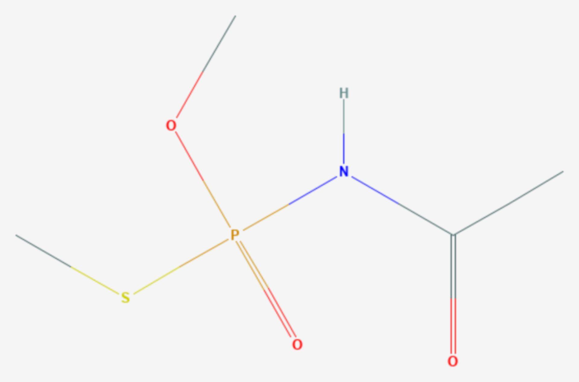 Acephat (Strukturformel)