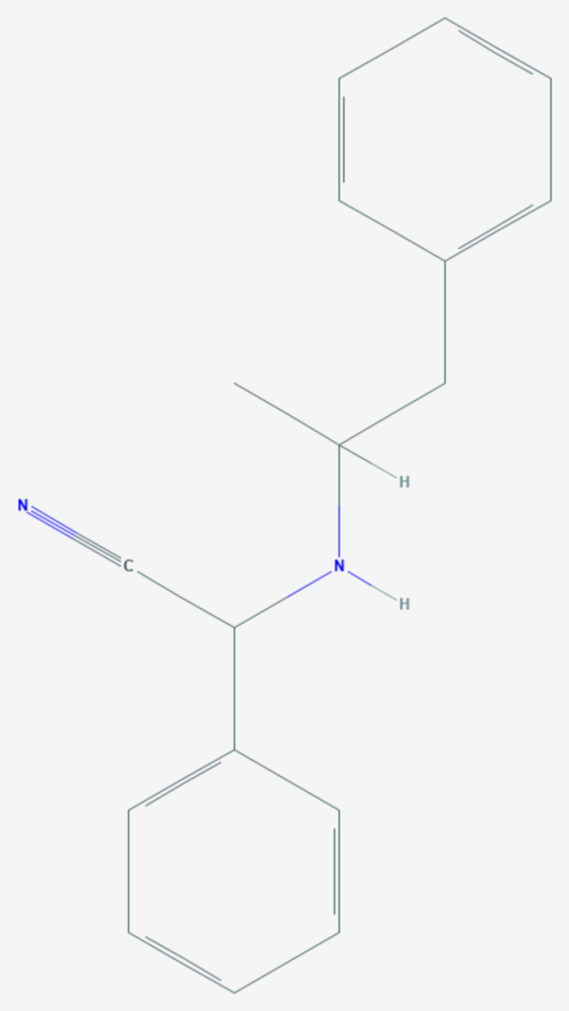 Amphetaminil (Strukturformel)