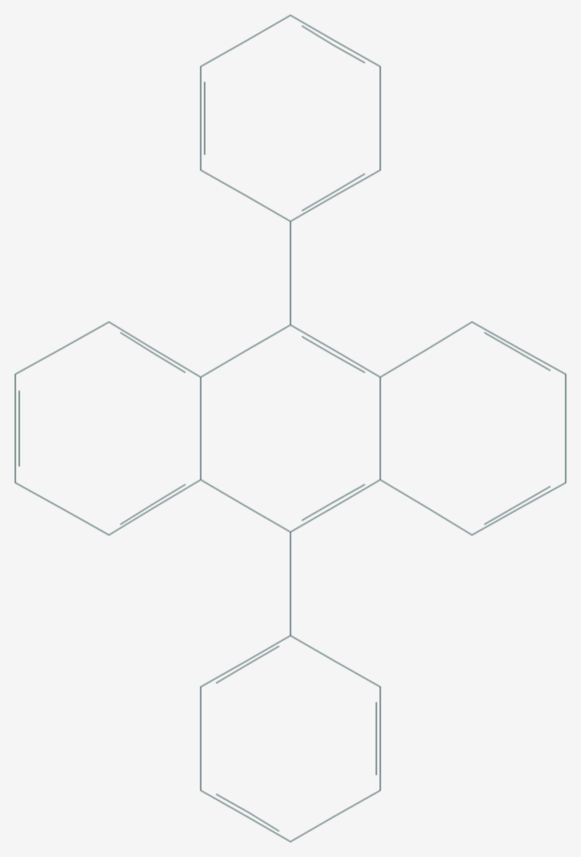 9,10-Diphenylanthracen (Strukturformel)
