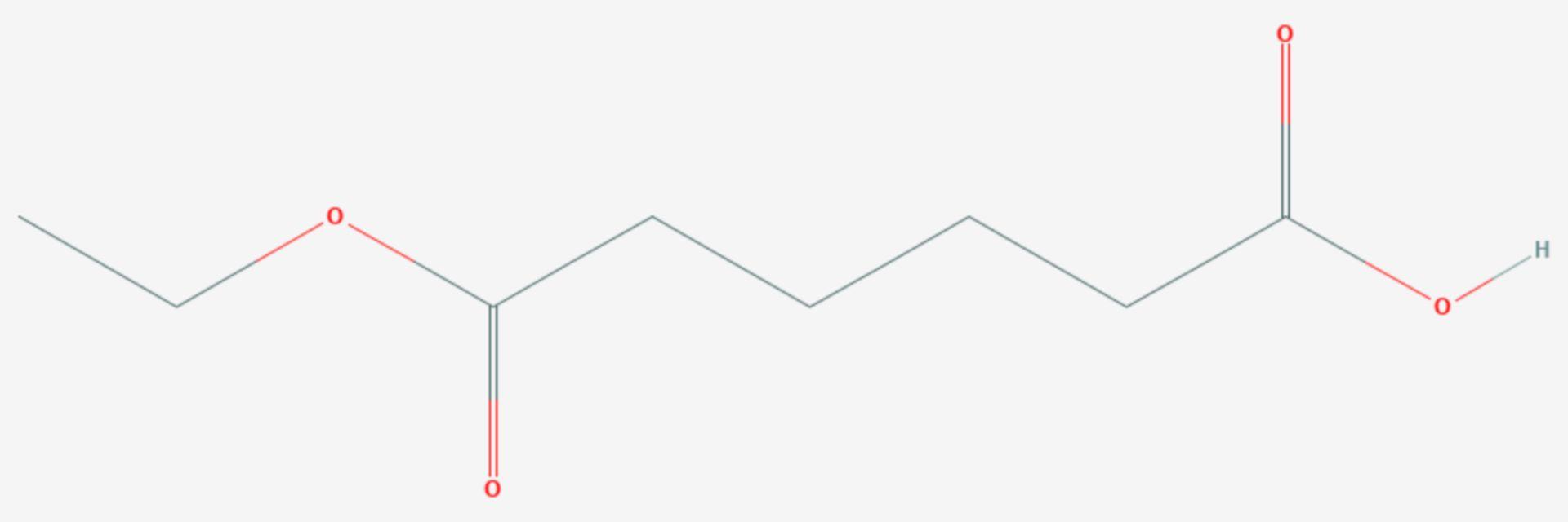 Monoethyladipat (Strukturformel)