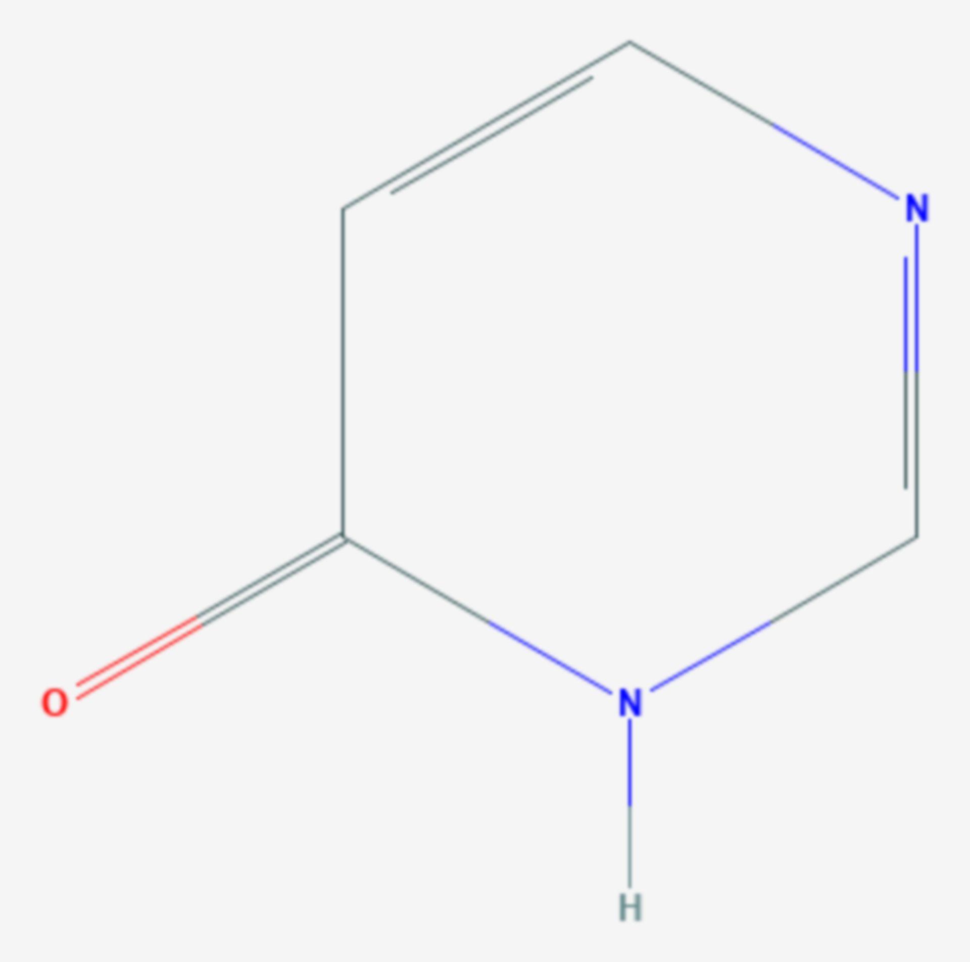 4-Pyrimidinon (Strukturformel)