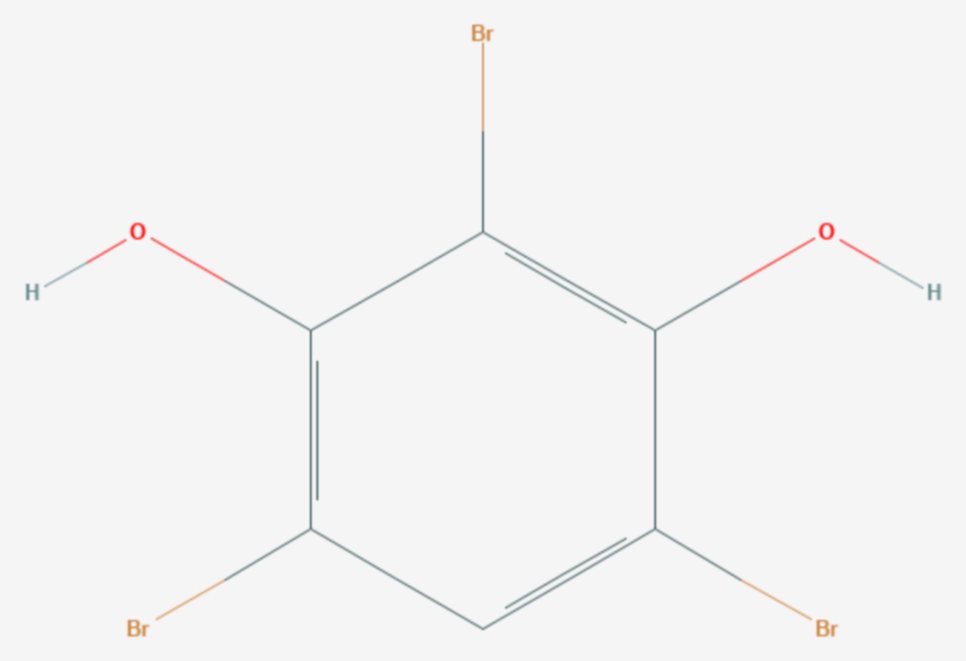 2,4,6-Tribromresorcin (Strukturformel)