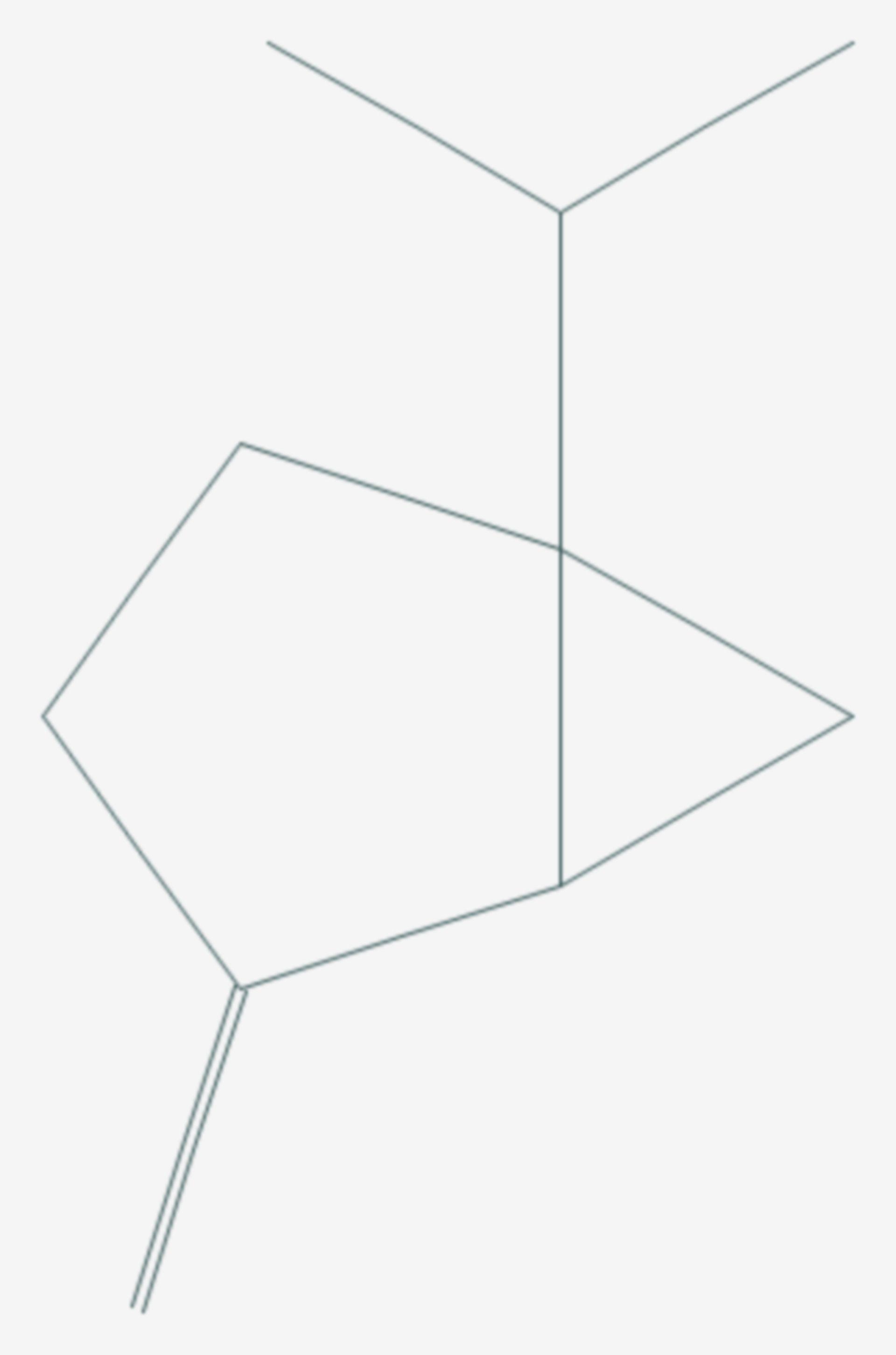 Sabinen (Strukturformel)