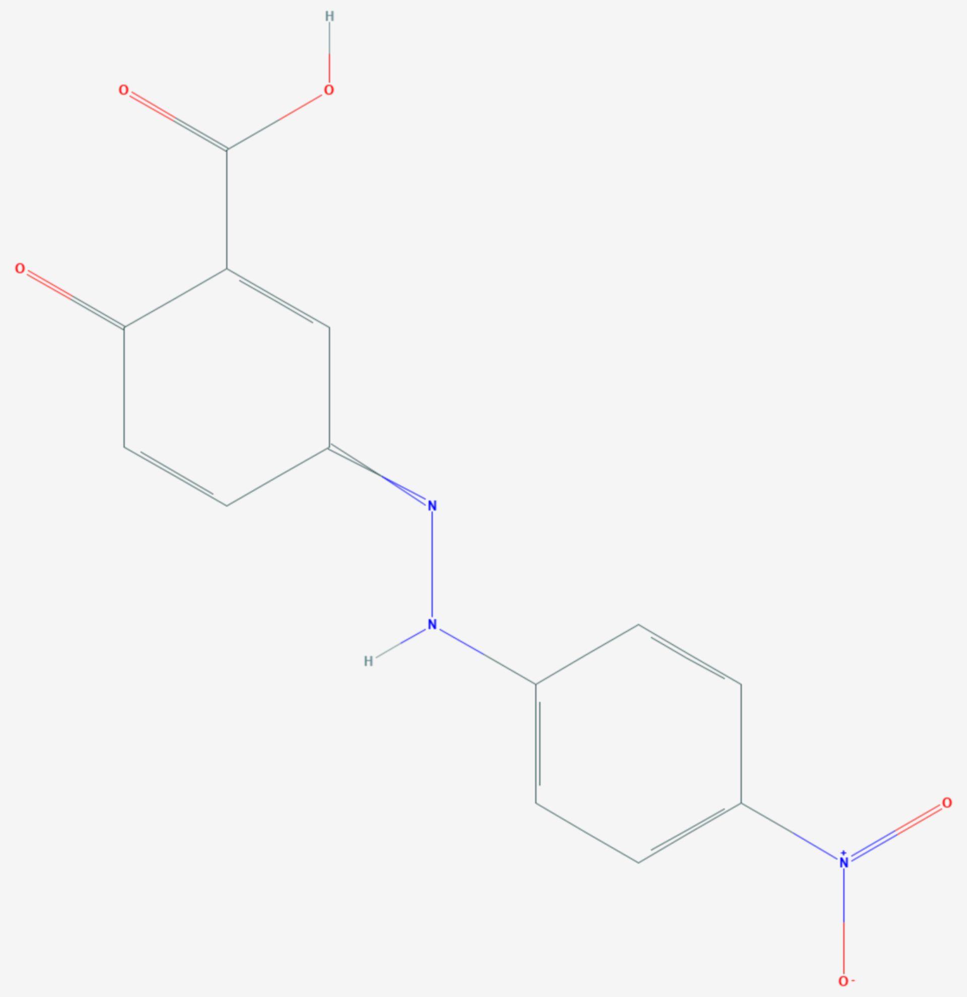 Alizaringelb R (Strukturformel)