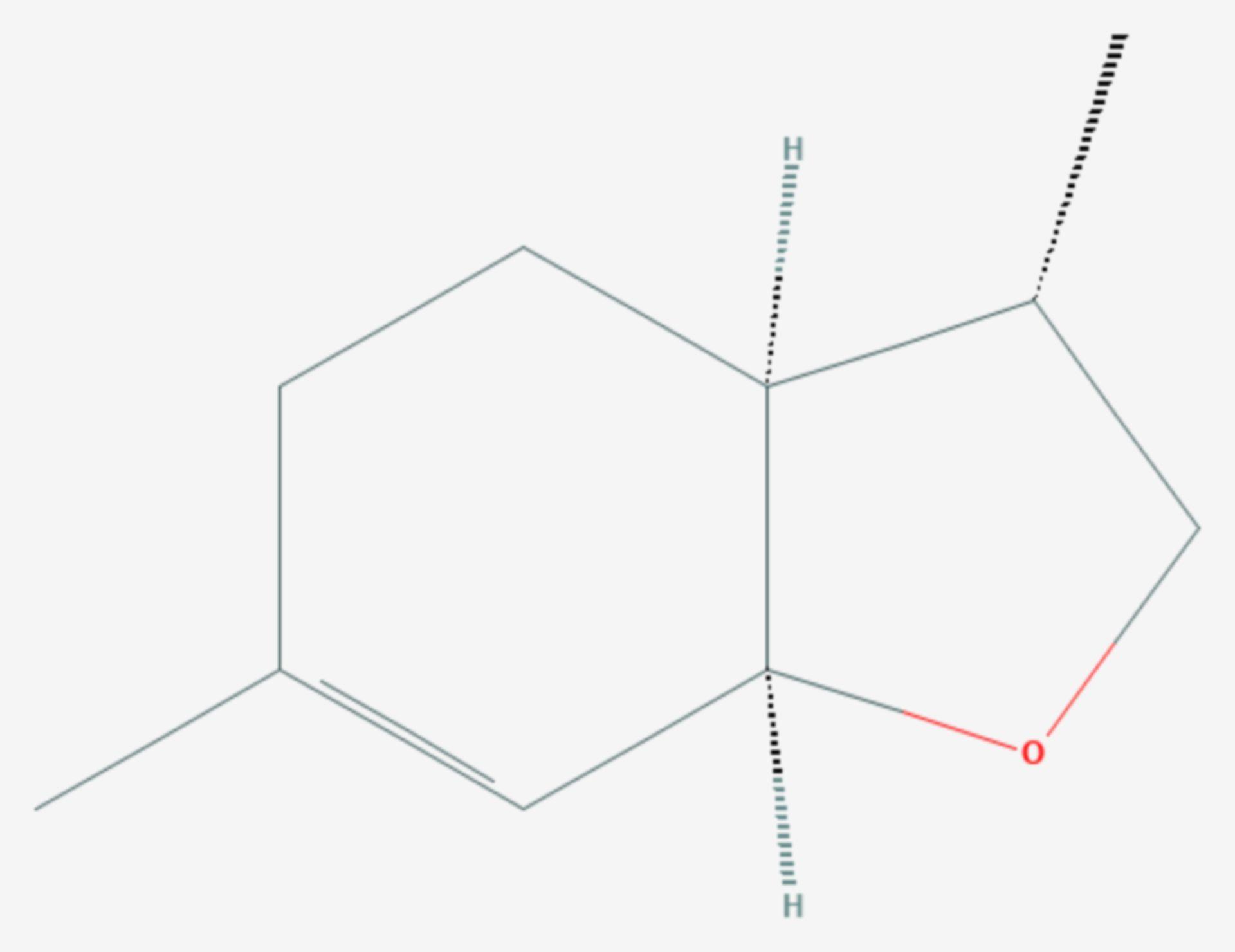 Anethofuran (Strukturformel)