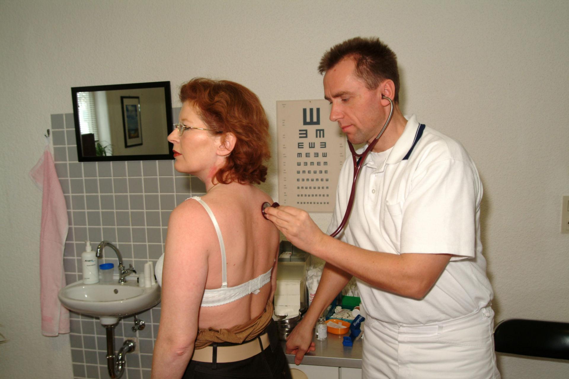 Stethoskop Untersuchung