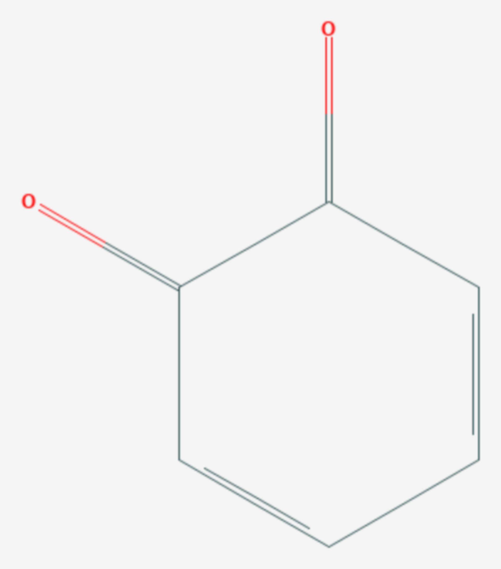 1,2-Benzochinon (Strukturformel)