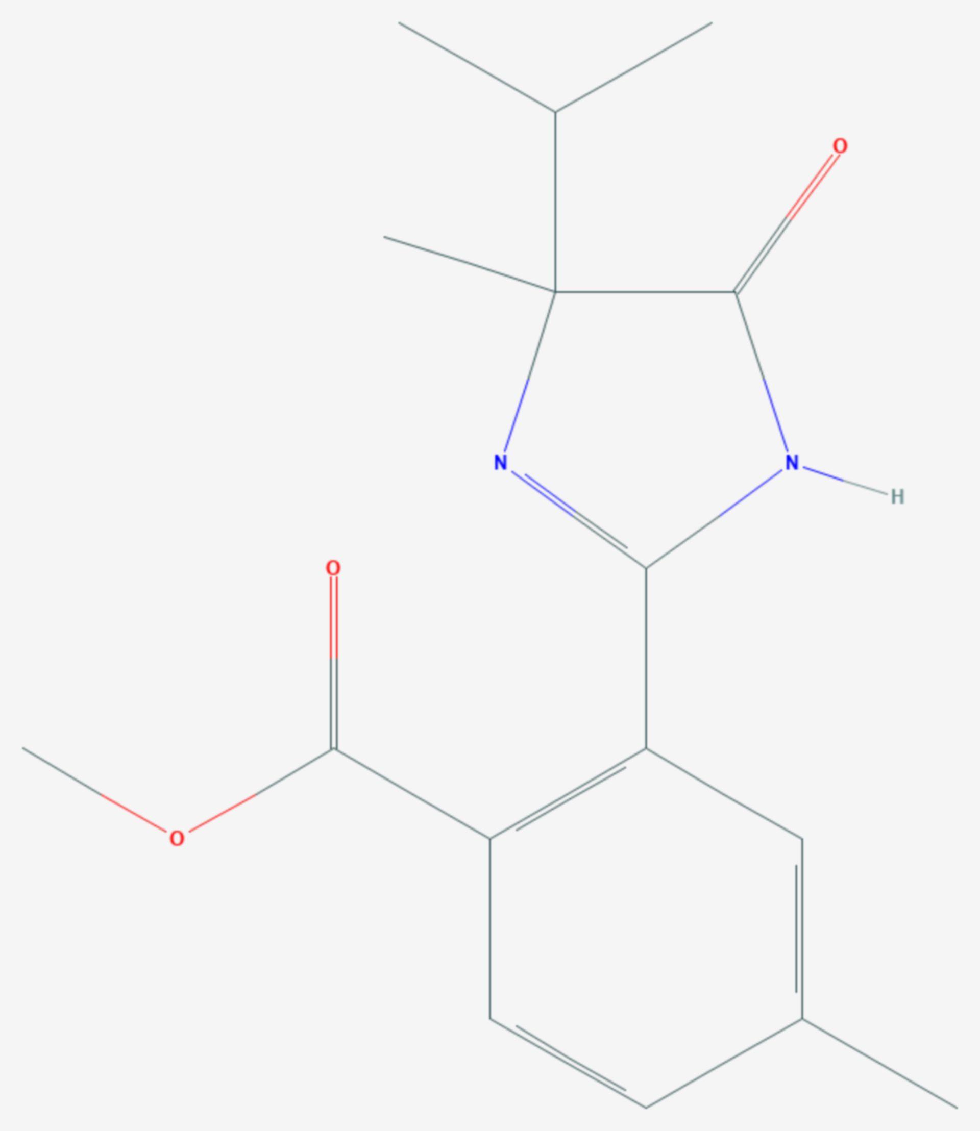 Imazamethabenz-methyl (Strukturformel)