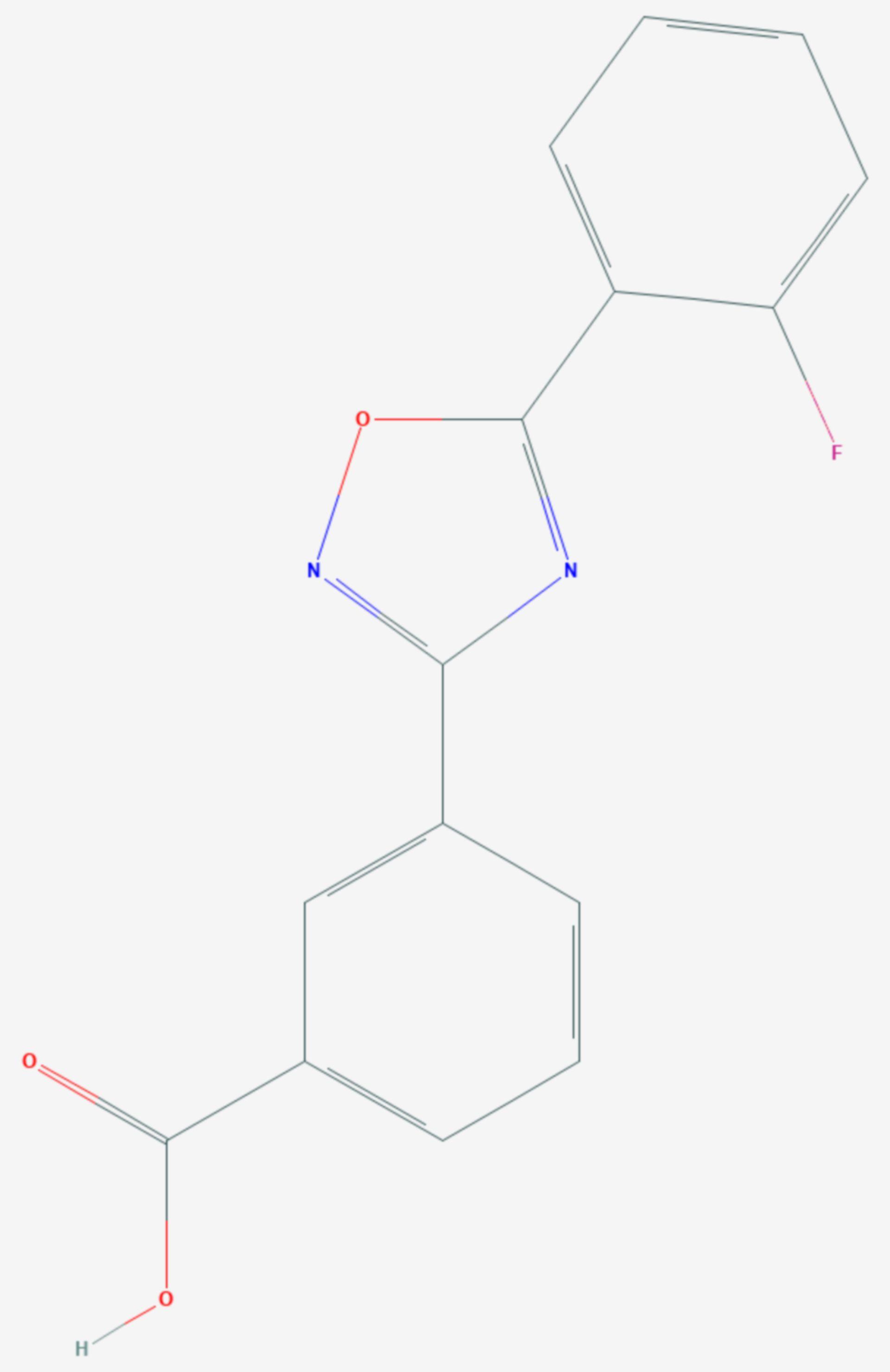 Ataluren (Strukturformel)
