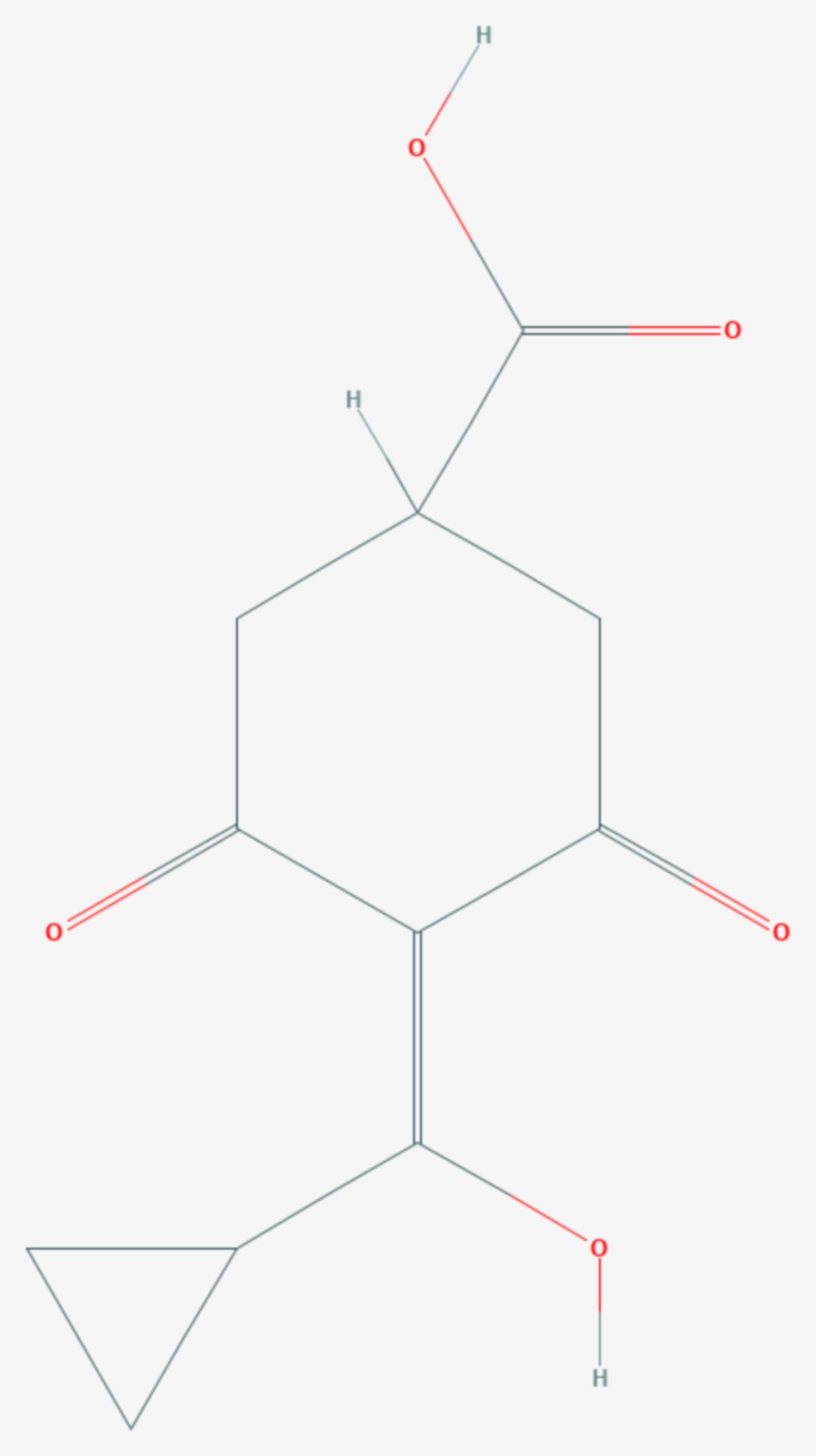 Trinexapac (Strukturformel)