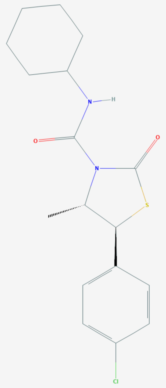 Hexythiazox (Strukturformel)