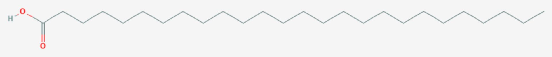 Cerotinsäure (Strukturformel)