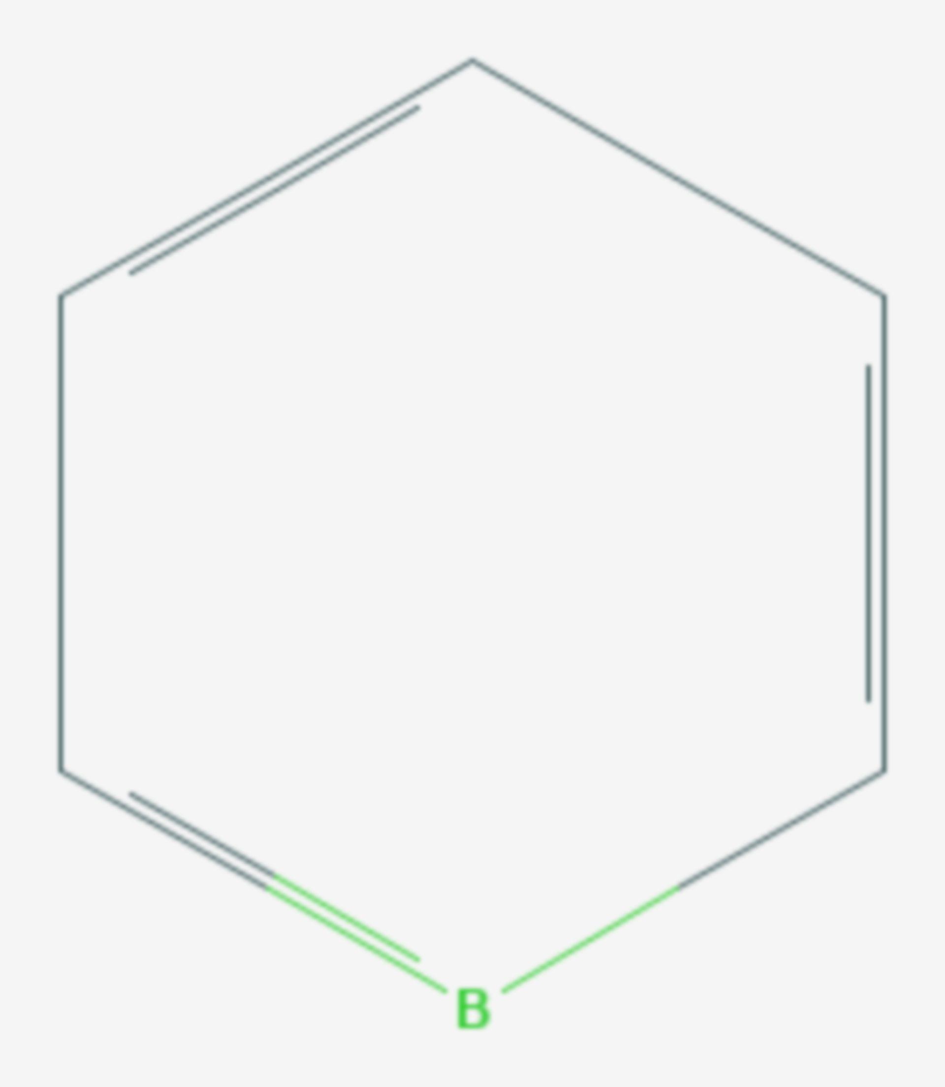Borabenzol (Strukturformel)