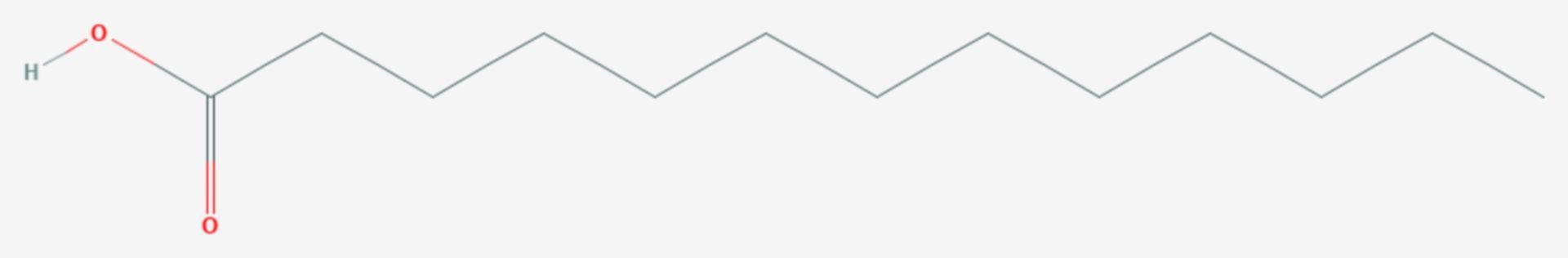 Tridecansäure (Strukturformel)