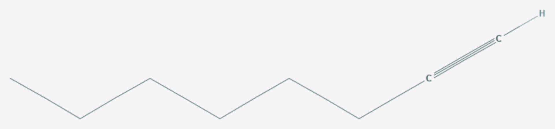 1-Octin (Strukturformel)