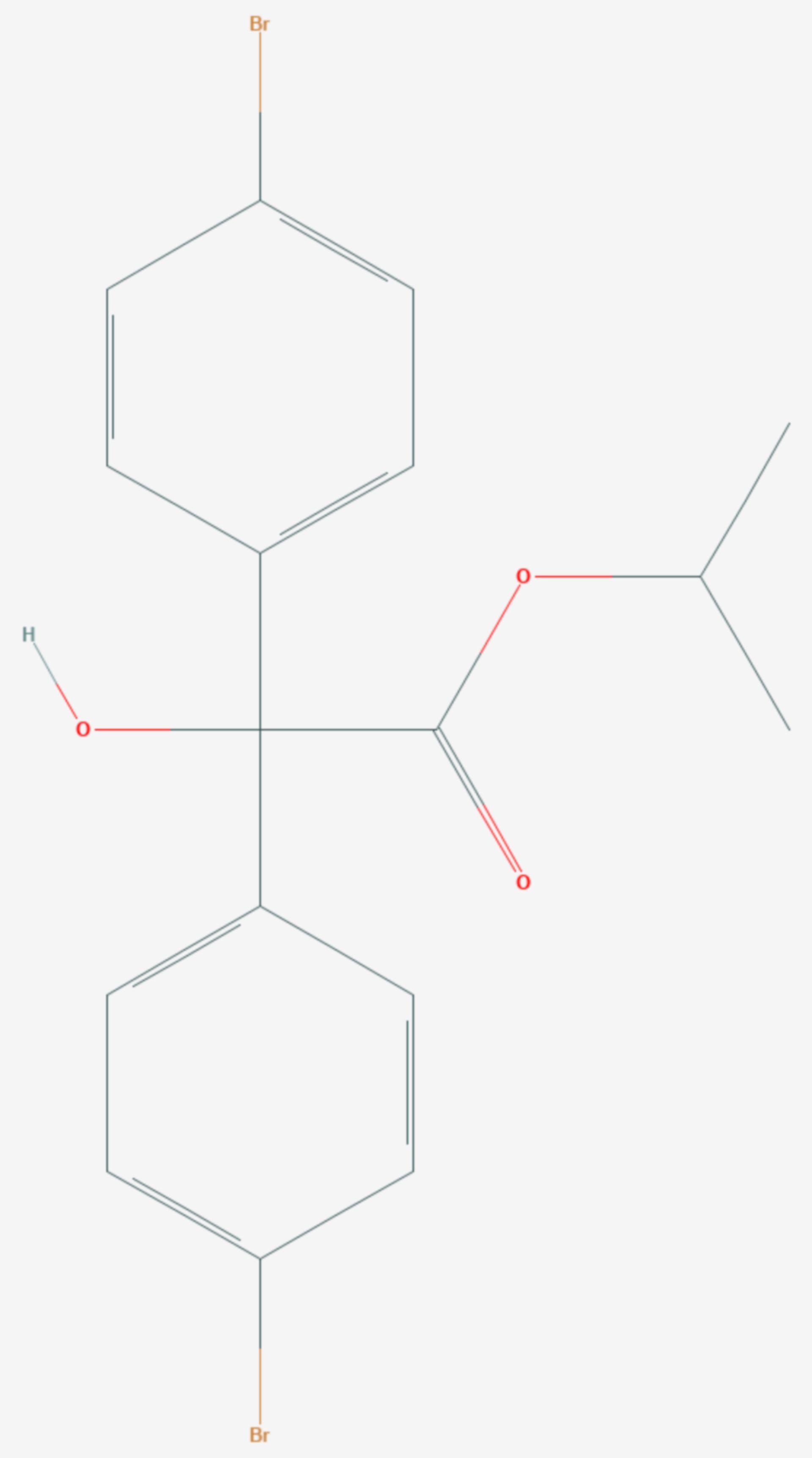 Brompropylat (Strukturformel)