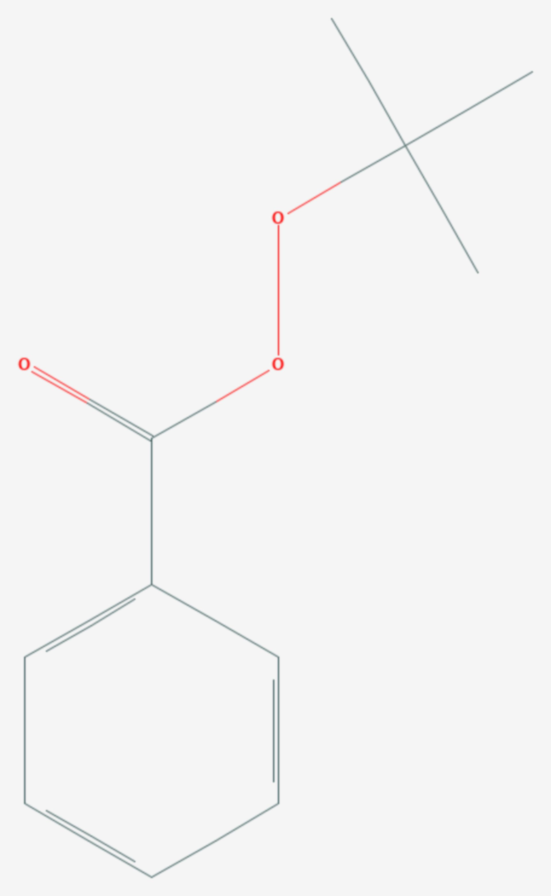 Tert-Butylperoxybenzoat (Strukturformel)