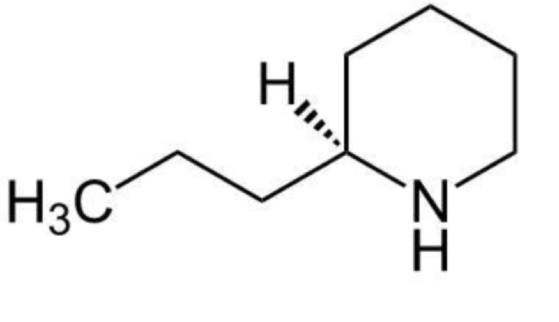 Coniin (Strukturformel)