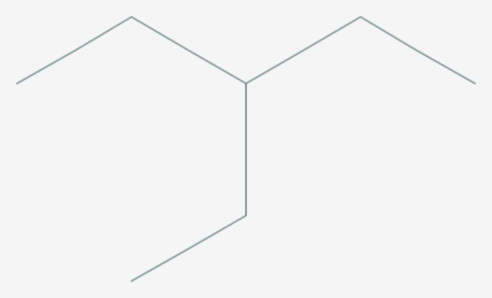 3-Ethylpentan (Strukturformel)