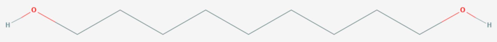 1,9-Nonandiol (Strukturformel)
