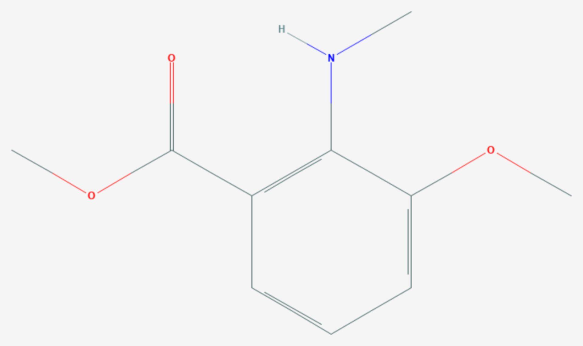 Damascenin (Strukturformel)