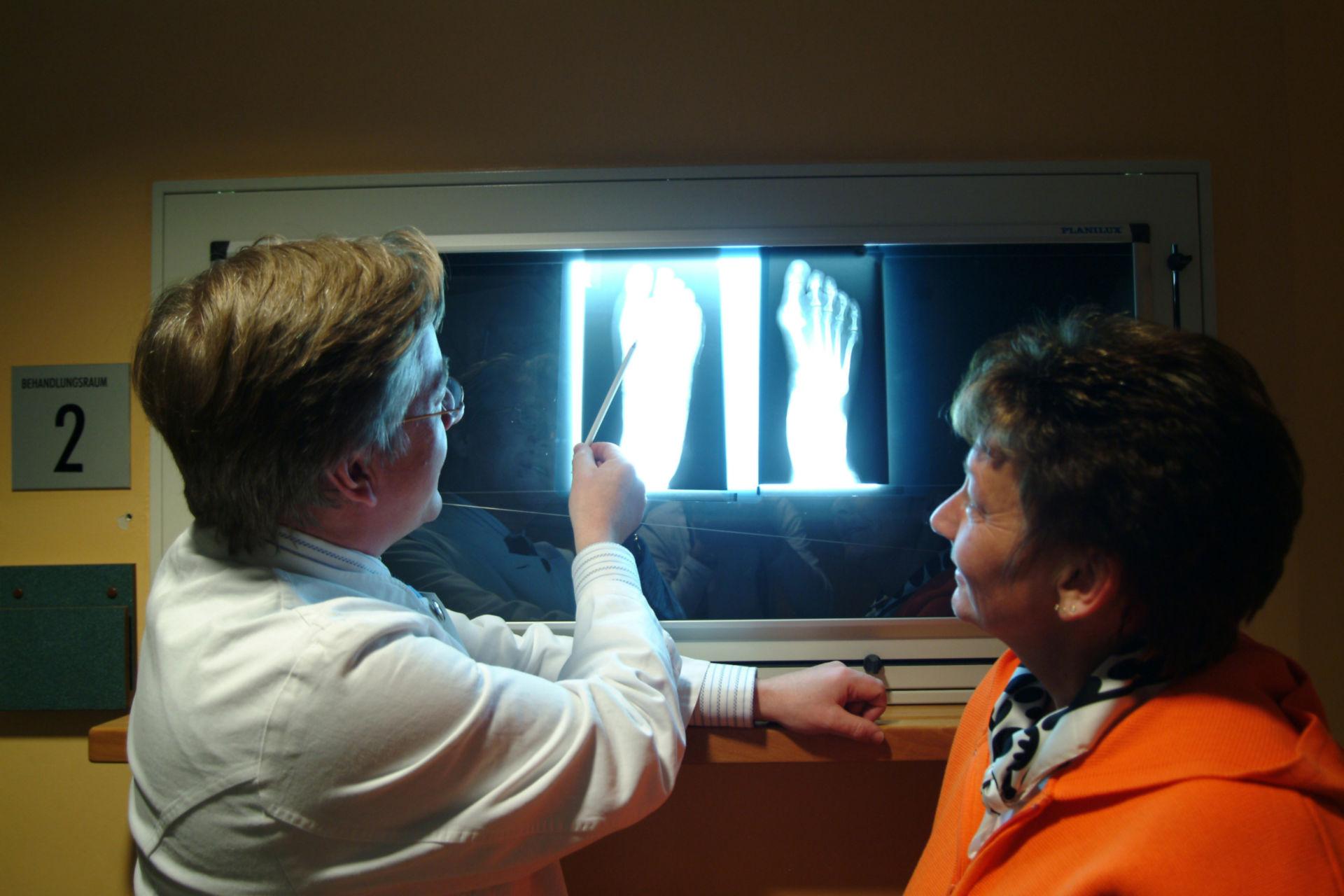 Röntgenbesprechung