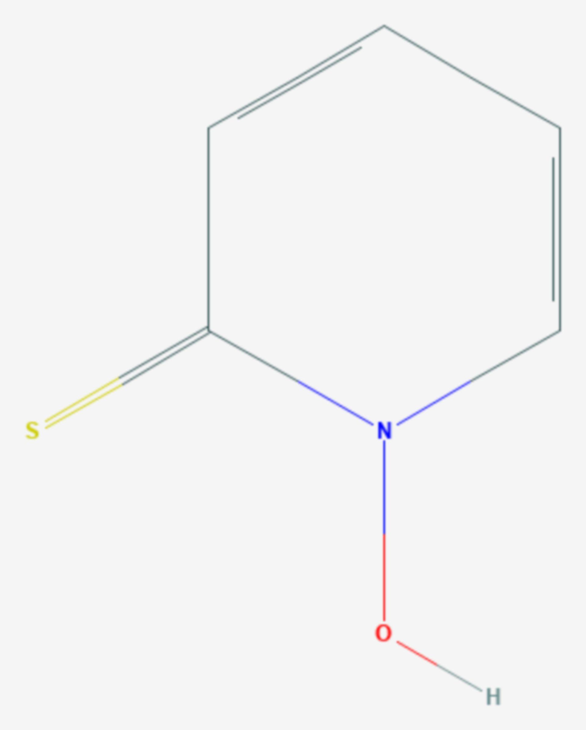Pyrithion (Strukturformel)