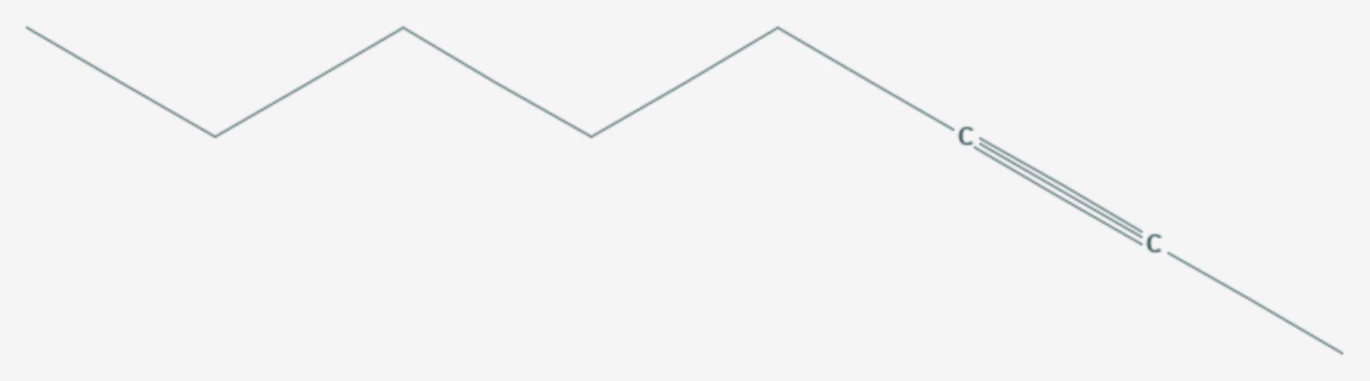 2-Octin (Strukturformel)