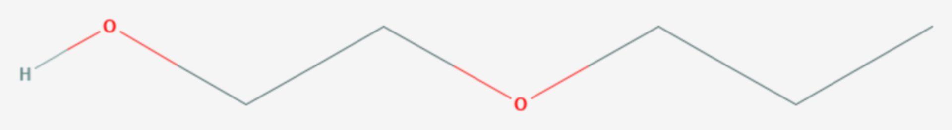 Ethylenglycolmonopropylether (Strukturformel)