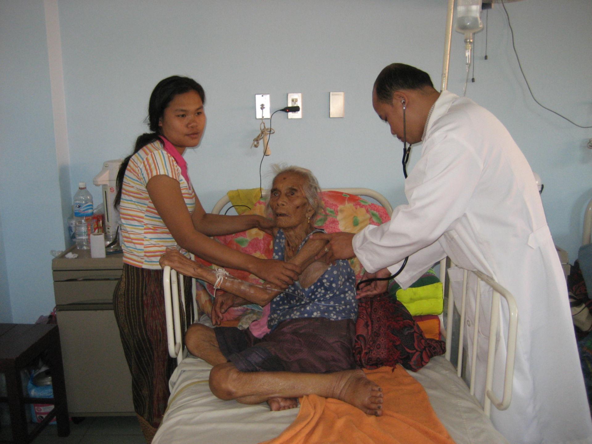 Paziente (femmina, 99 anni di età)