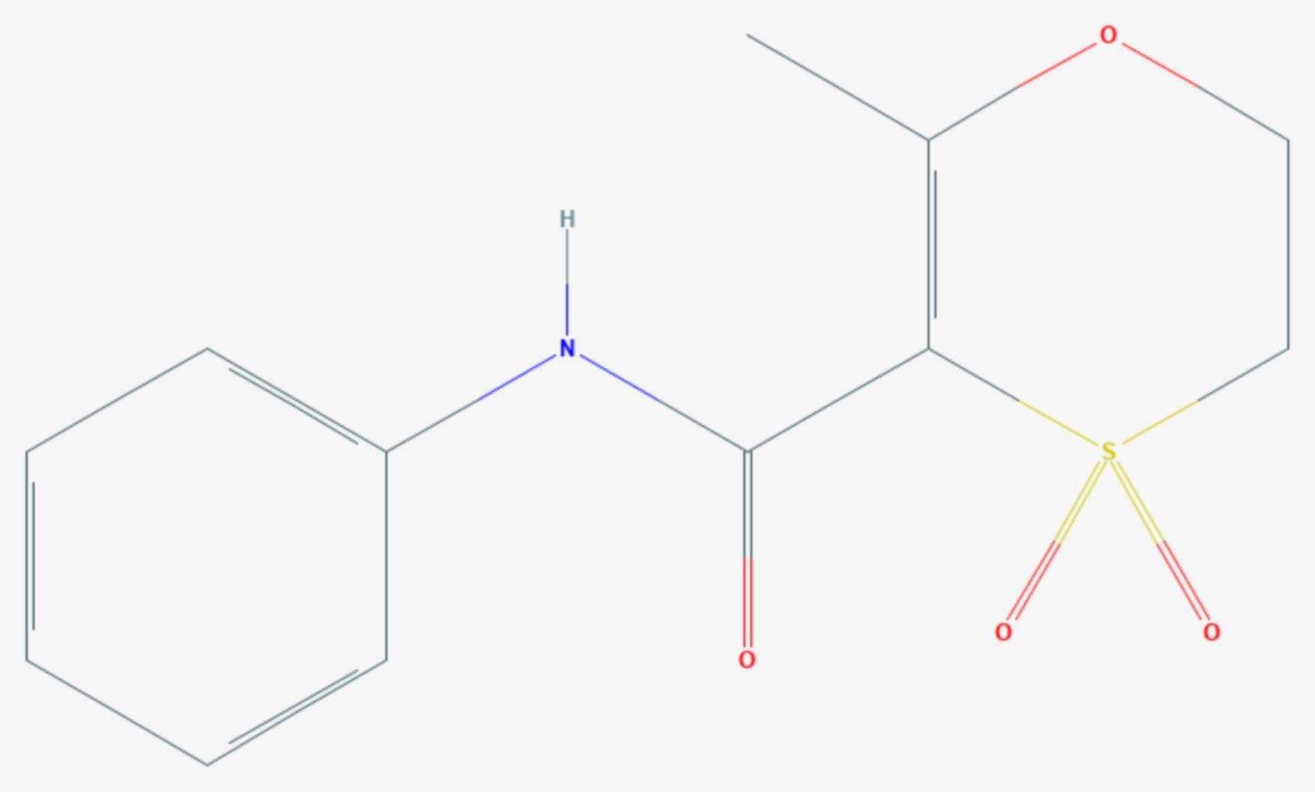 Oxycarboxin (Strukturformel)