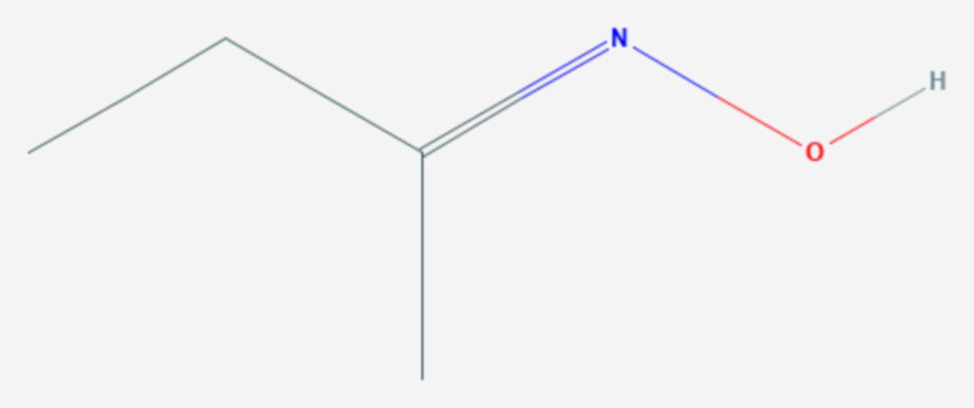 2-Butanonoxim (Strukturformel)