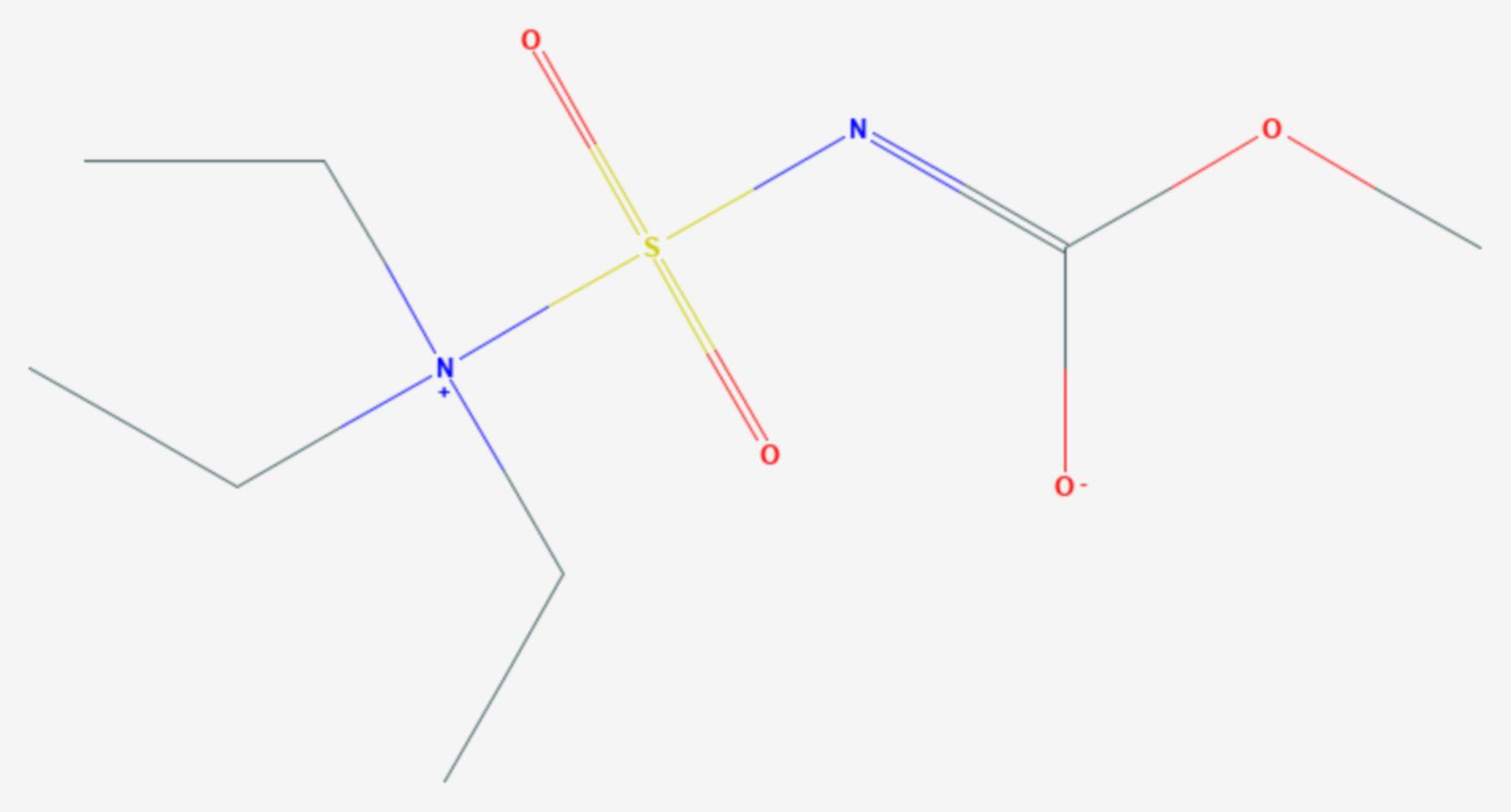 Burgess-Reagenz (Strukturformel)