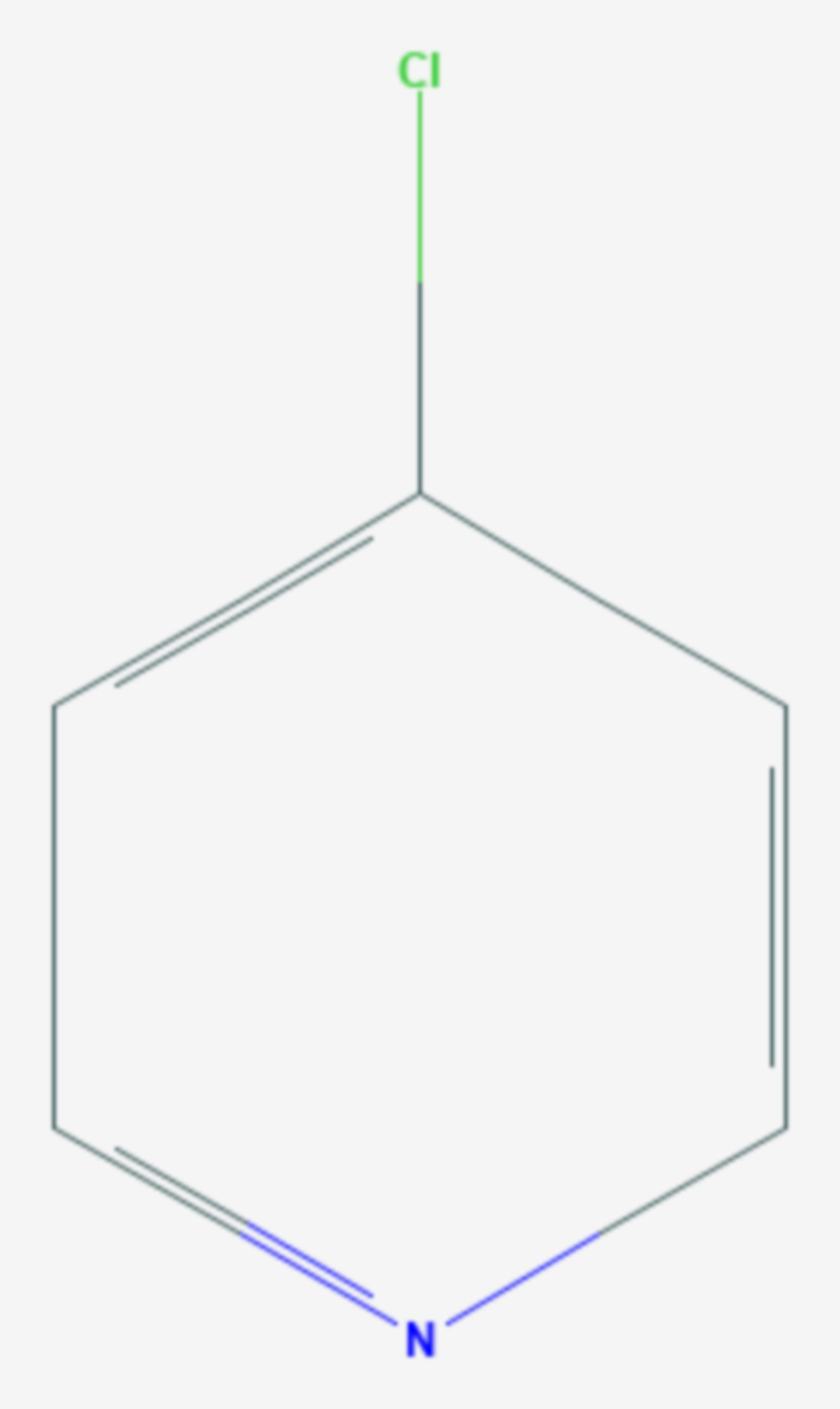 4-Chlorpyridin (Strukturformel)