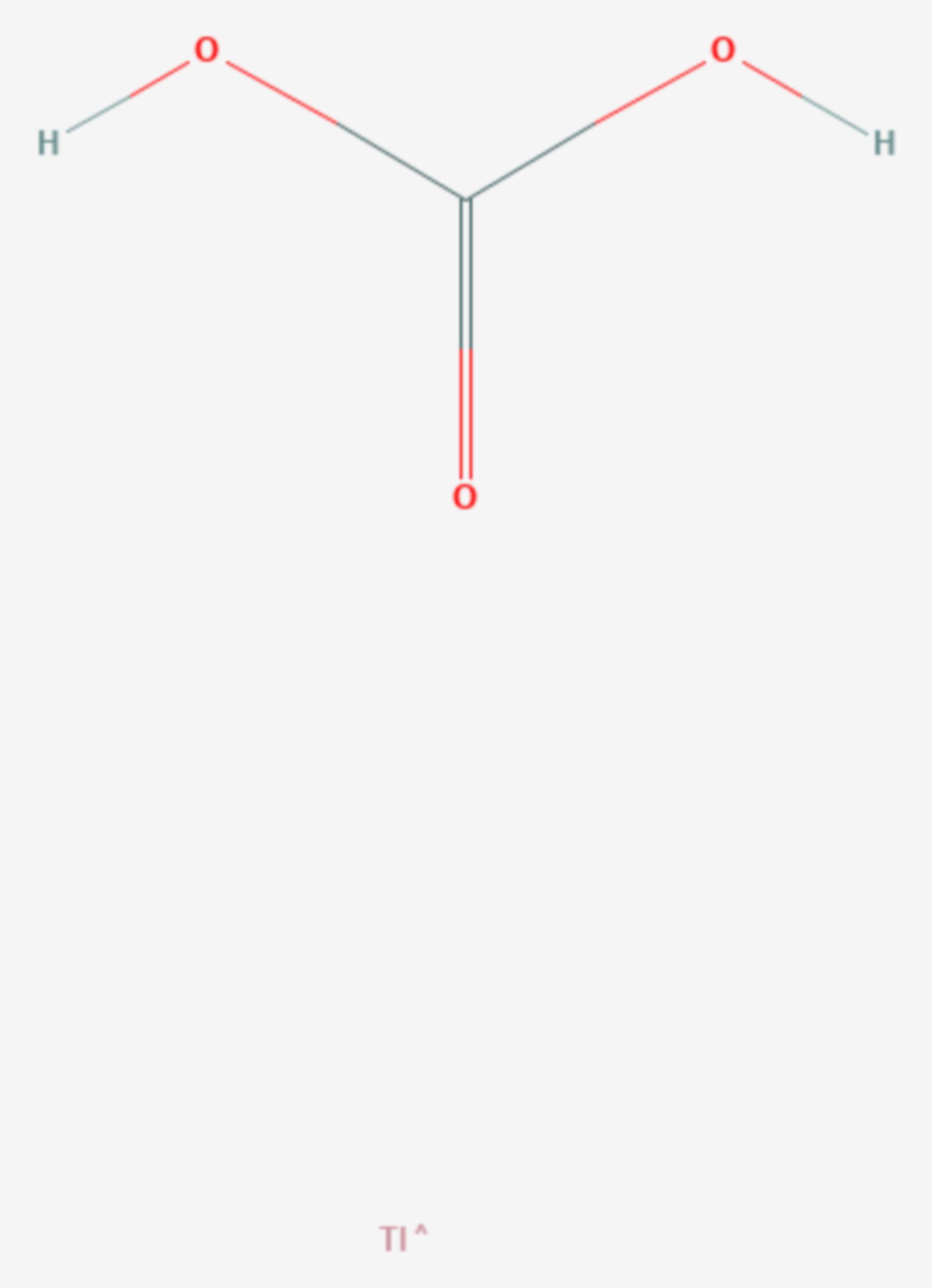 Thallium(I)-carbonat (Strukturformel)