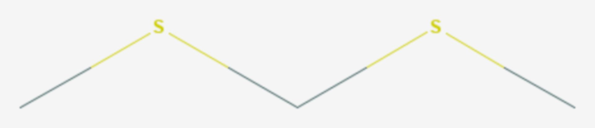 2,4-Dithiapentan (Strukturformel)