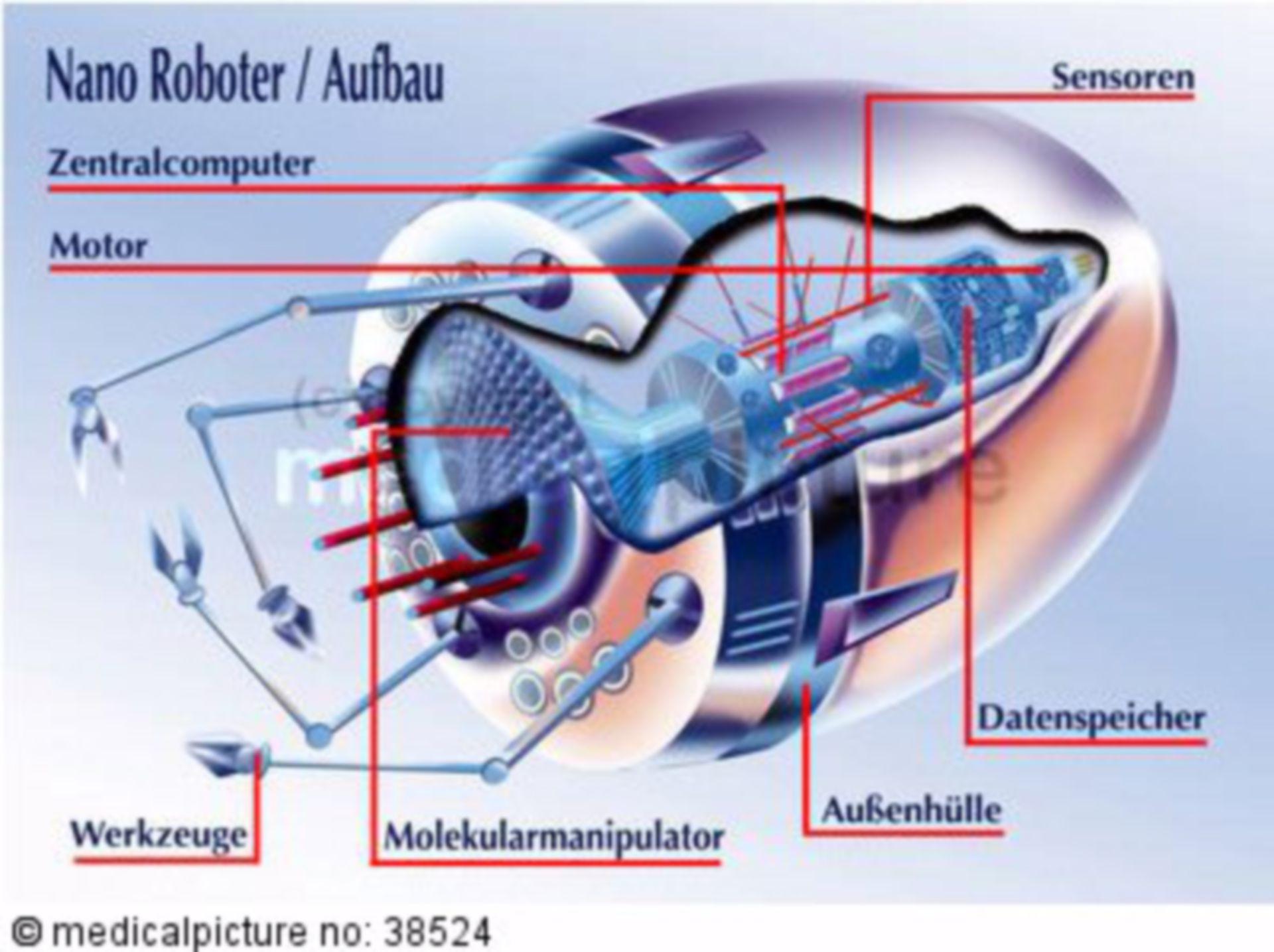 Aufbau eines Nanoroboters