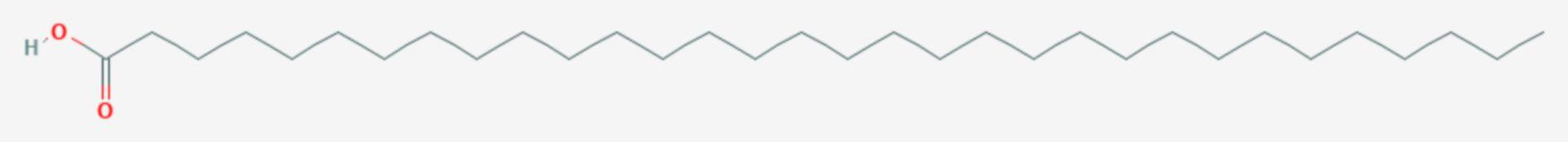 Laccersäure (Strukturformel)