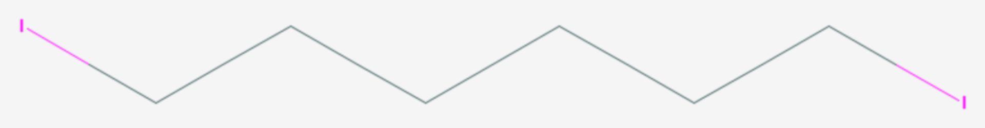 1,6-Diiodhexan (Strukturformel)