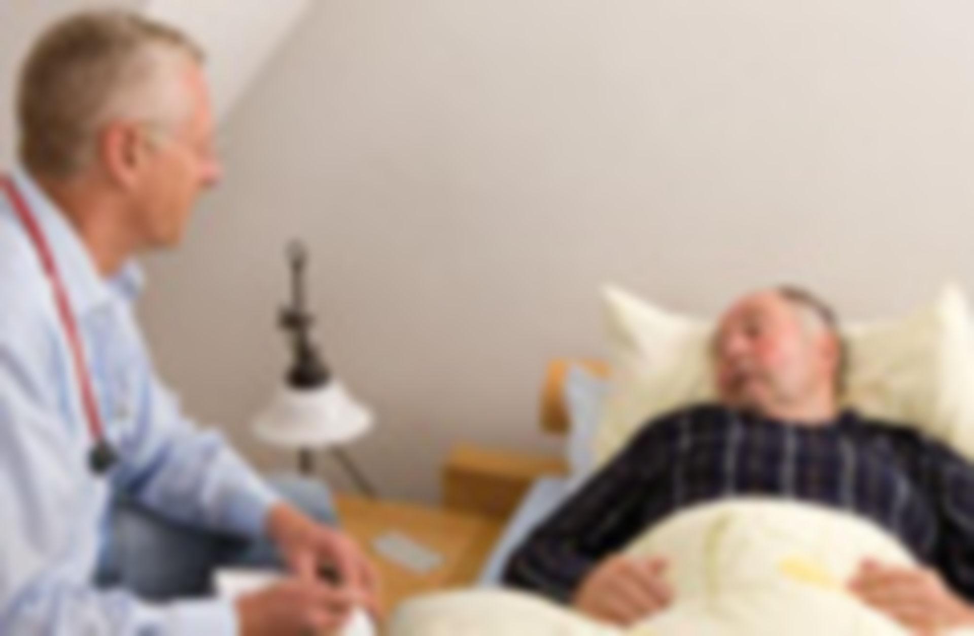 Medico di famiglia al capezzale
