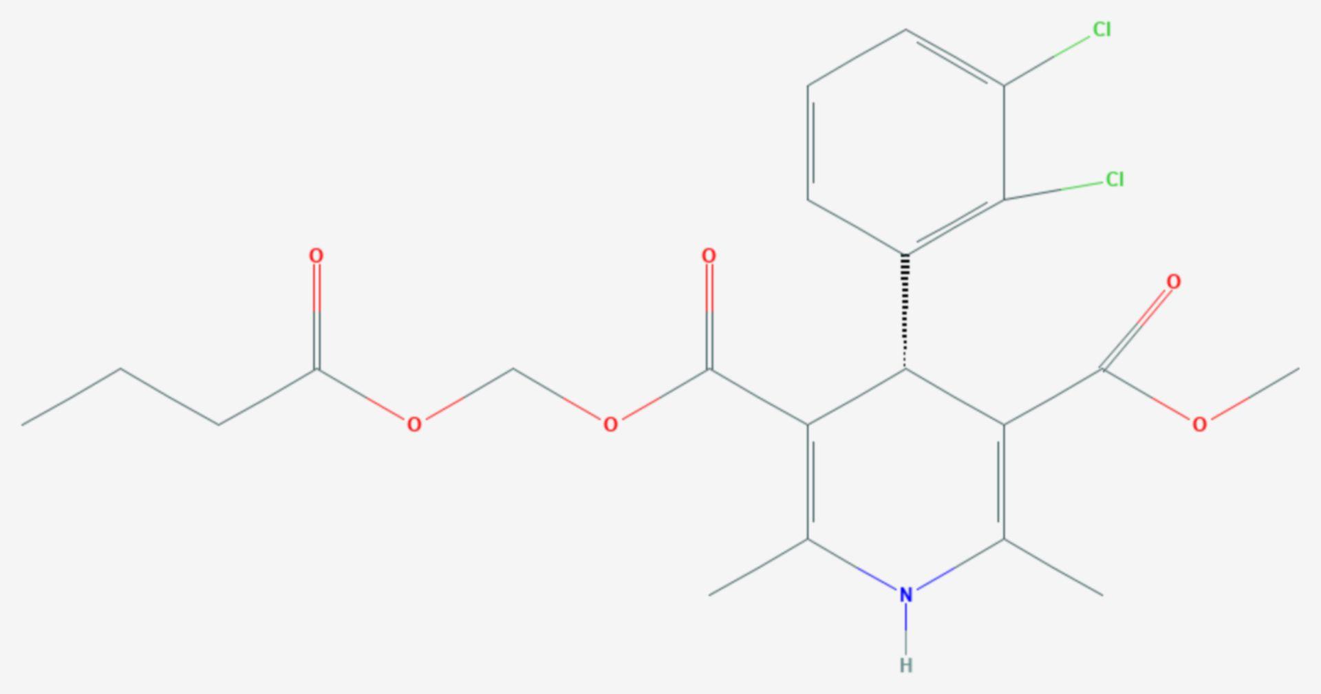 Clevidipin (Strukturformel)