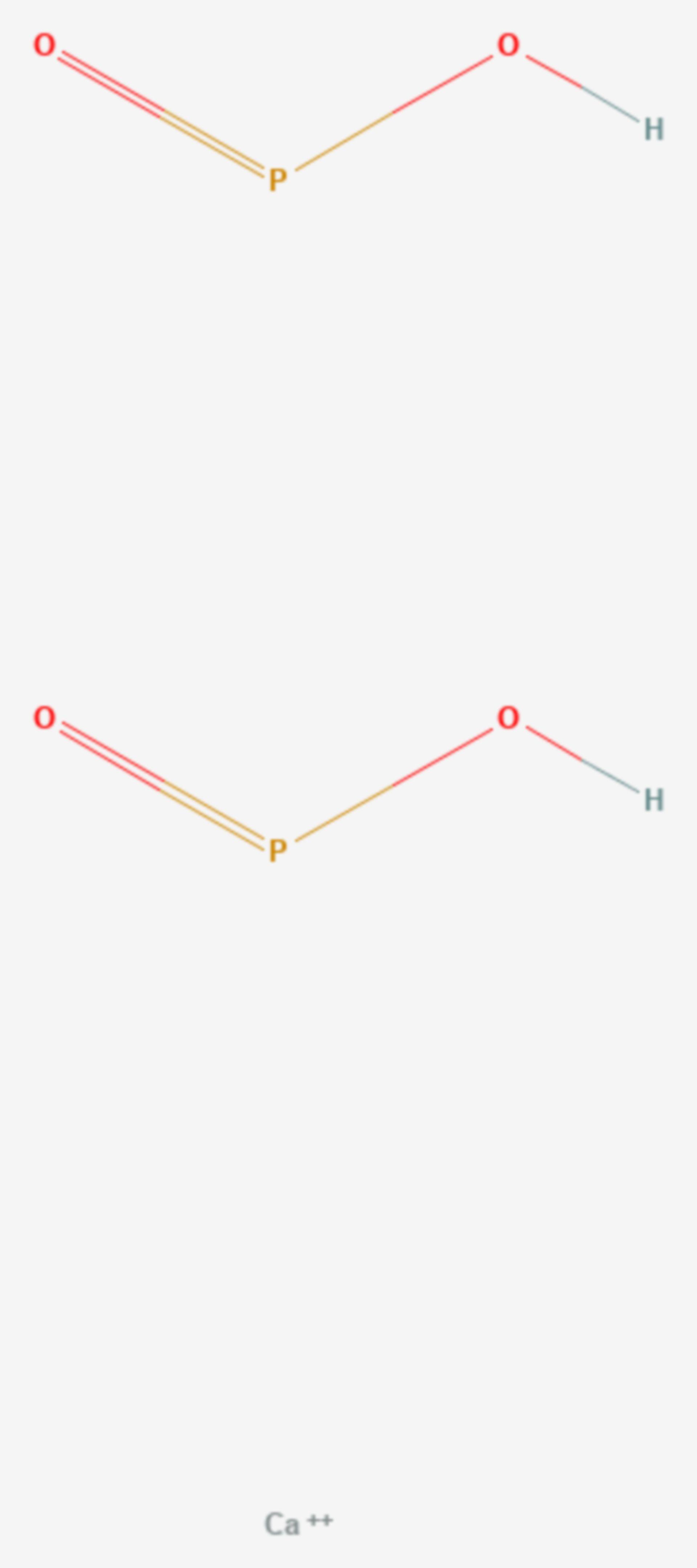 Calciumhypophosphit (Strukturformel)