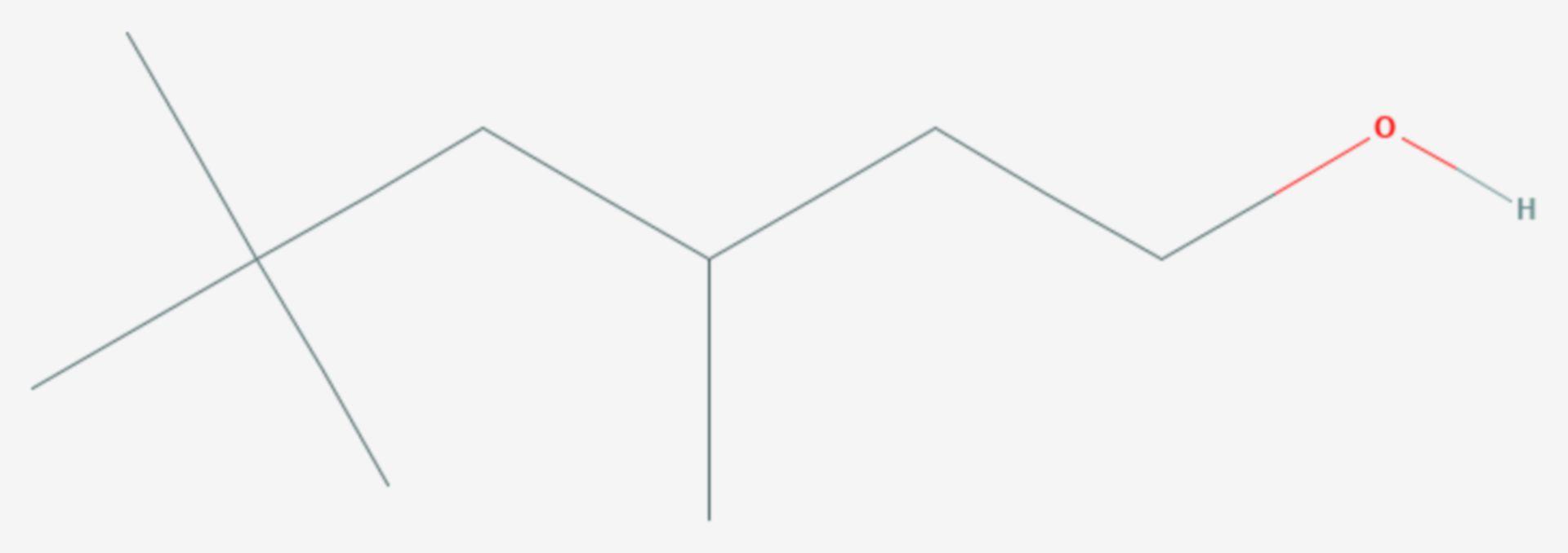 3,5,5-Trimethyl-1-hexanol (Strukturformel)
