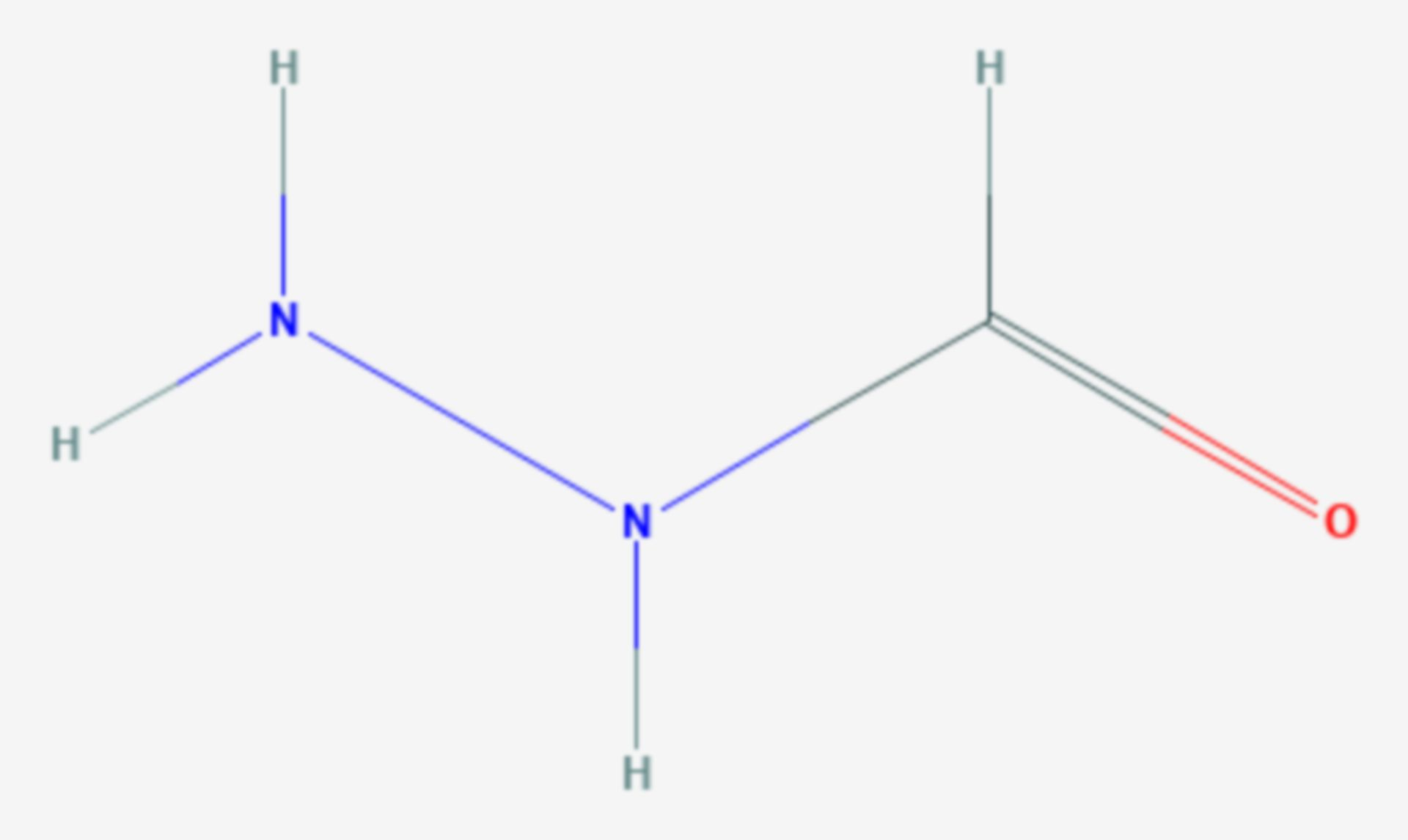 Formylhydrazin (Strukturformel)