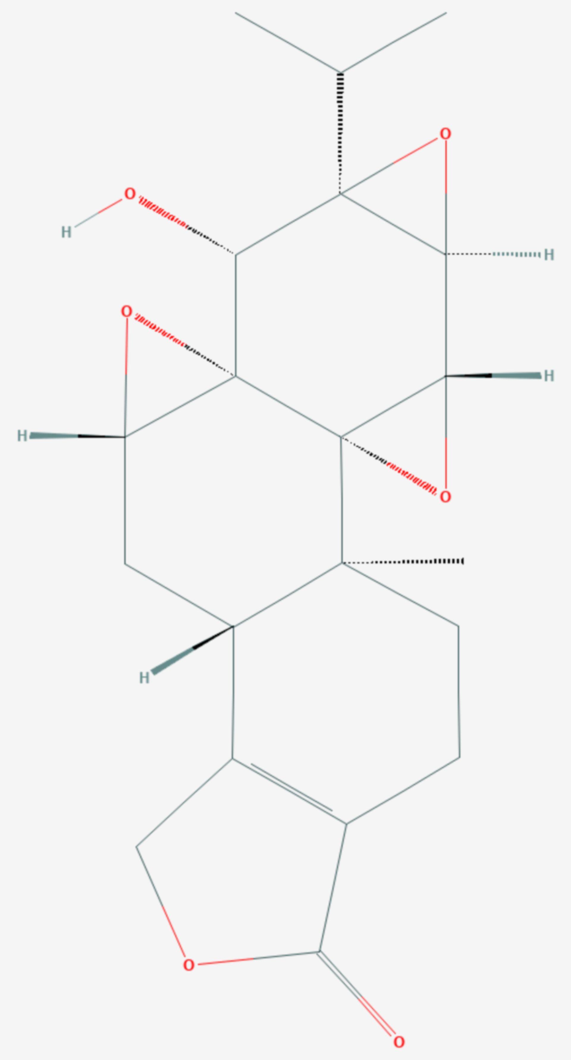 Triptolid (Strukturformel)