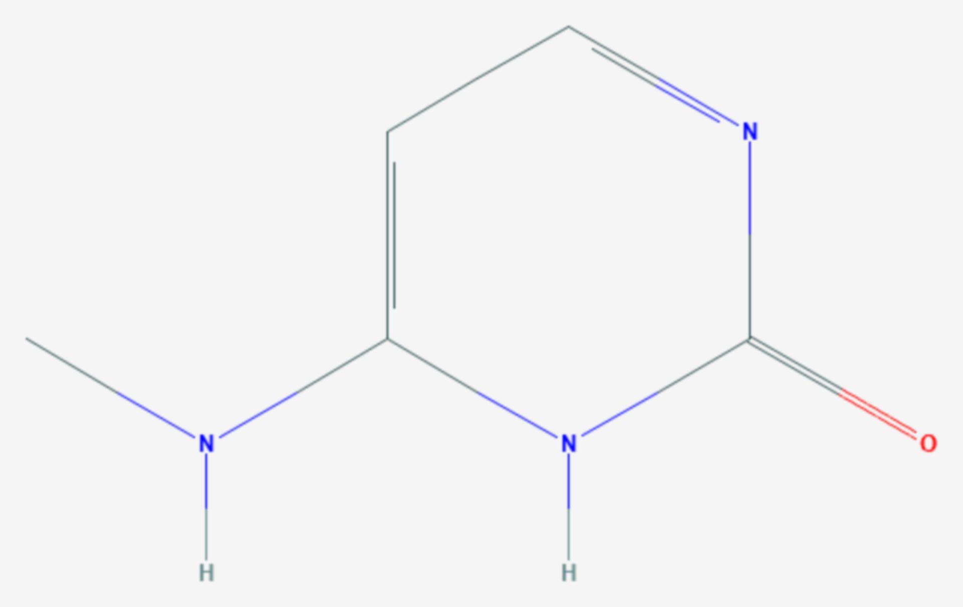 N4-Methylcytosin (Strukturformel)