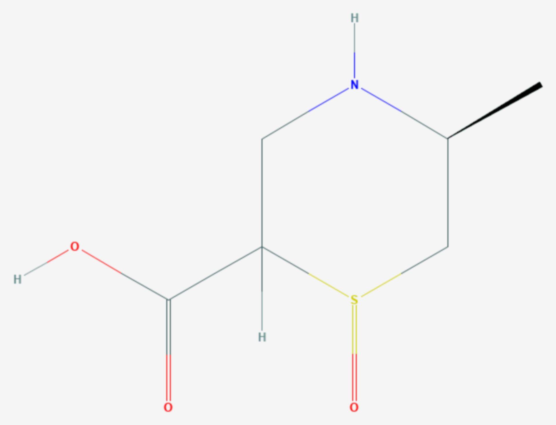 Cycloalliin (Strukturformel)
