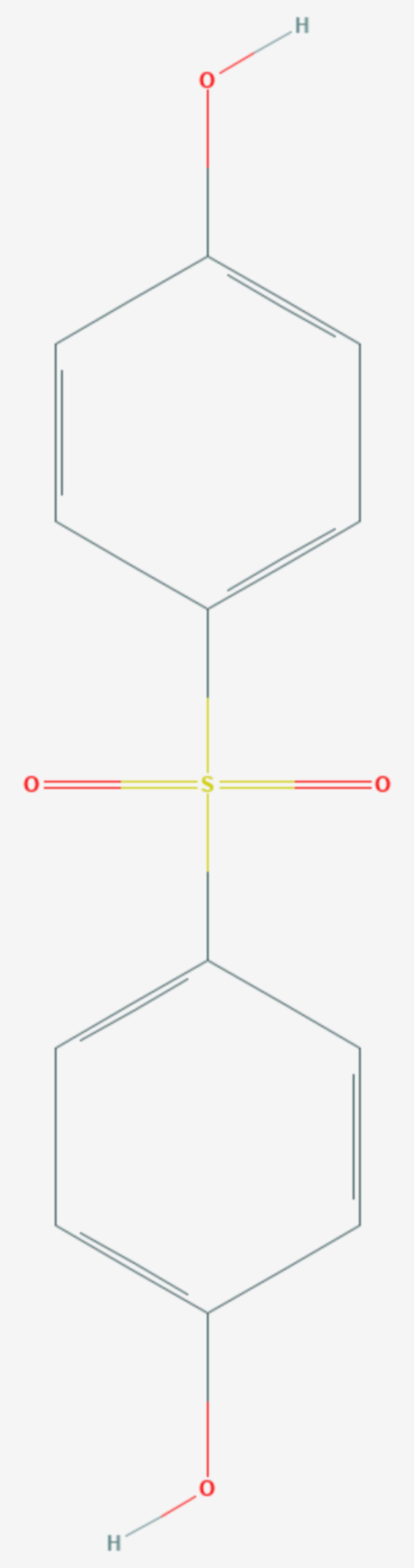 Bisphenol S (Strukturformel)