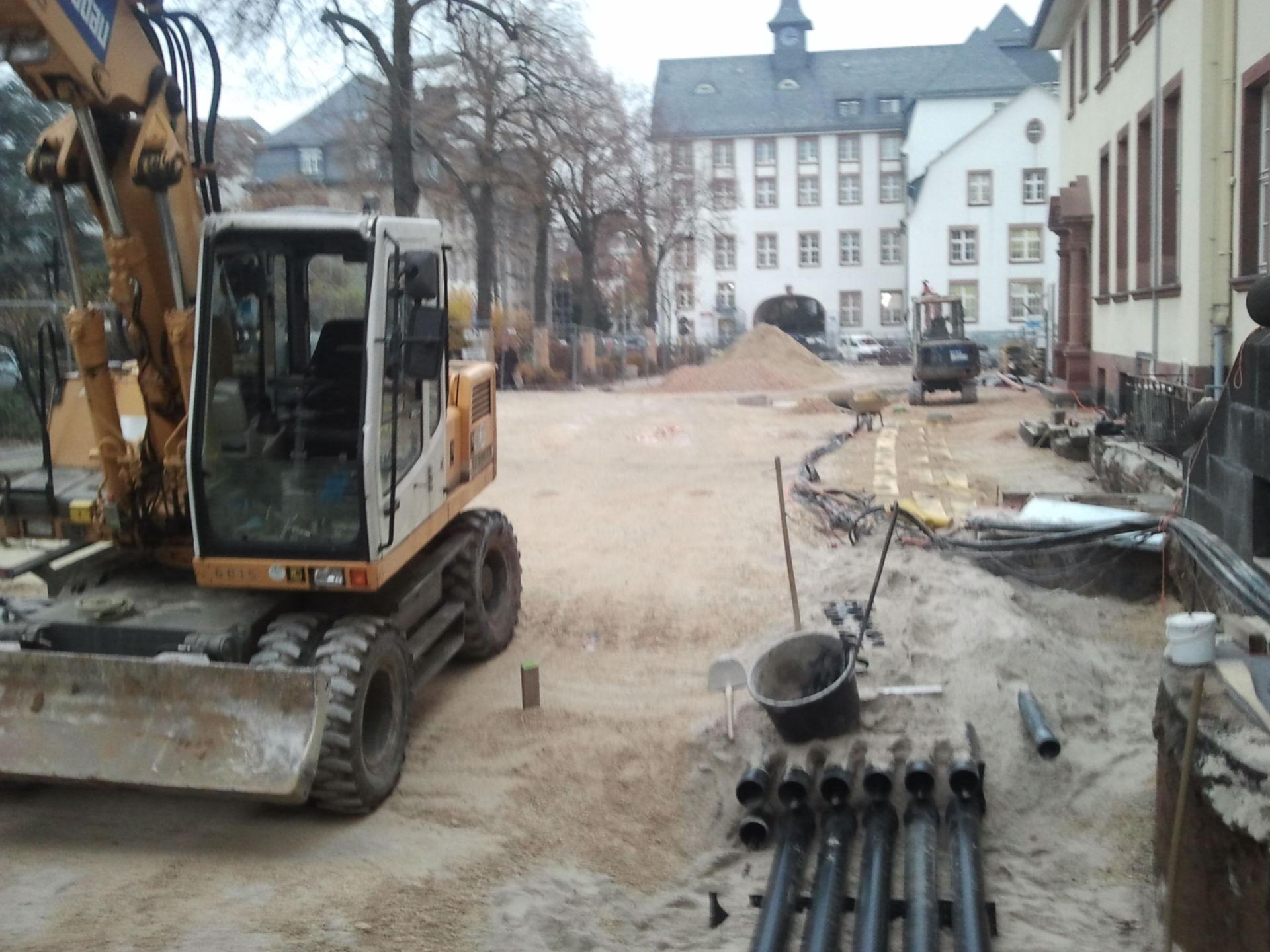 Uniklinik Frankfurt Baustelle