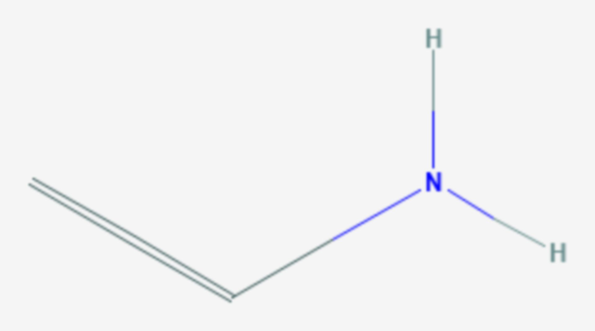 Vinylamin (Strukturformel)